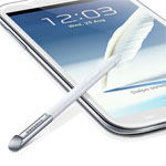 Galaxy Note 2 scherm